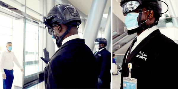 DP World's World Security opts for Smart Helmets for monitoring visitor traffic post-pandemic