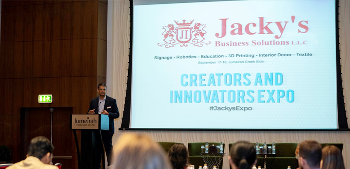 Jacky's Business Solutions' Creators & Innovators brings together over 25 speakers and 15 vendors in one platform
