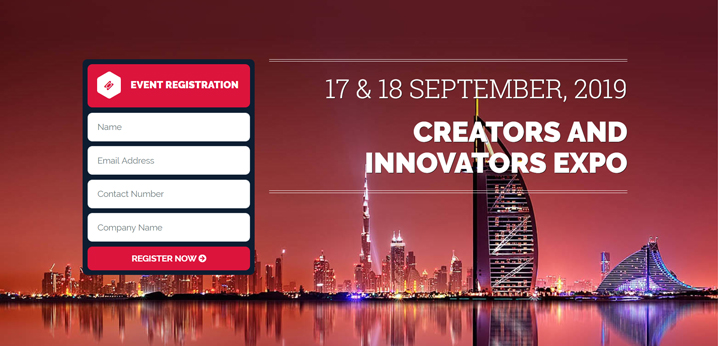 "Jacky's Business Solutions opens registration for ""Creators & Innovators Expo"", 17 & 18 September 2019, Jumeirah Creekside Hotel"