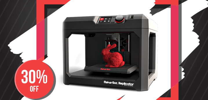 MakerBot Replicator (5th Generation) on special offer