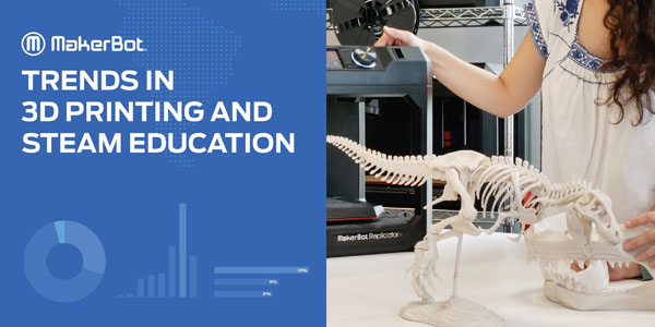 MakerBot releases new report on trends in 3D Printing and STEAM Education