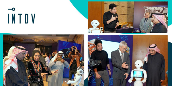 Jacky's joined INTDV in KFAS Robotics and AI Festival in Kuwait