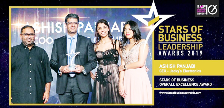 Jacky's Business recognised for contribution to the SMB market