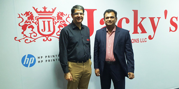 Jacky's Business Solutions appoints Saasz Solutions as a Strategic Reseller for HP large format printing