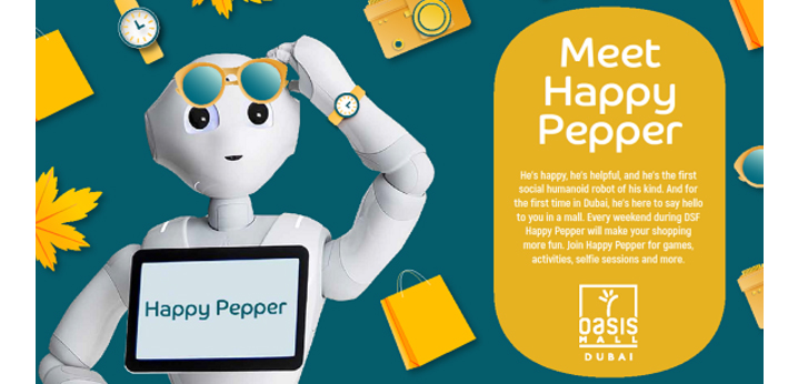 Oasis Mall hosted a Meet and Greet With 'Happy Pepper' in January