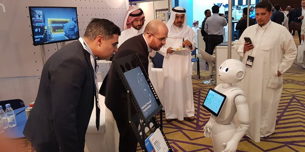 Pepper joins Saudi Emerging Technologies Forum 2019