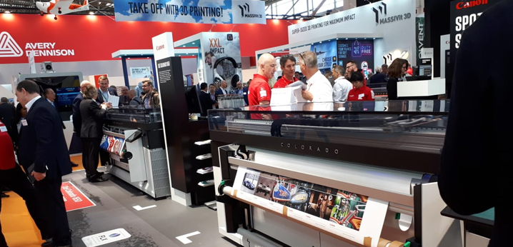 Jacky's joined its printing vendors at FESPA