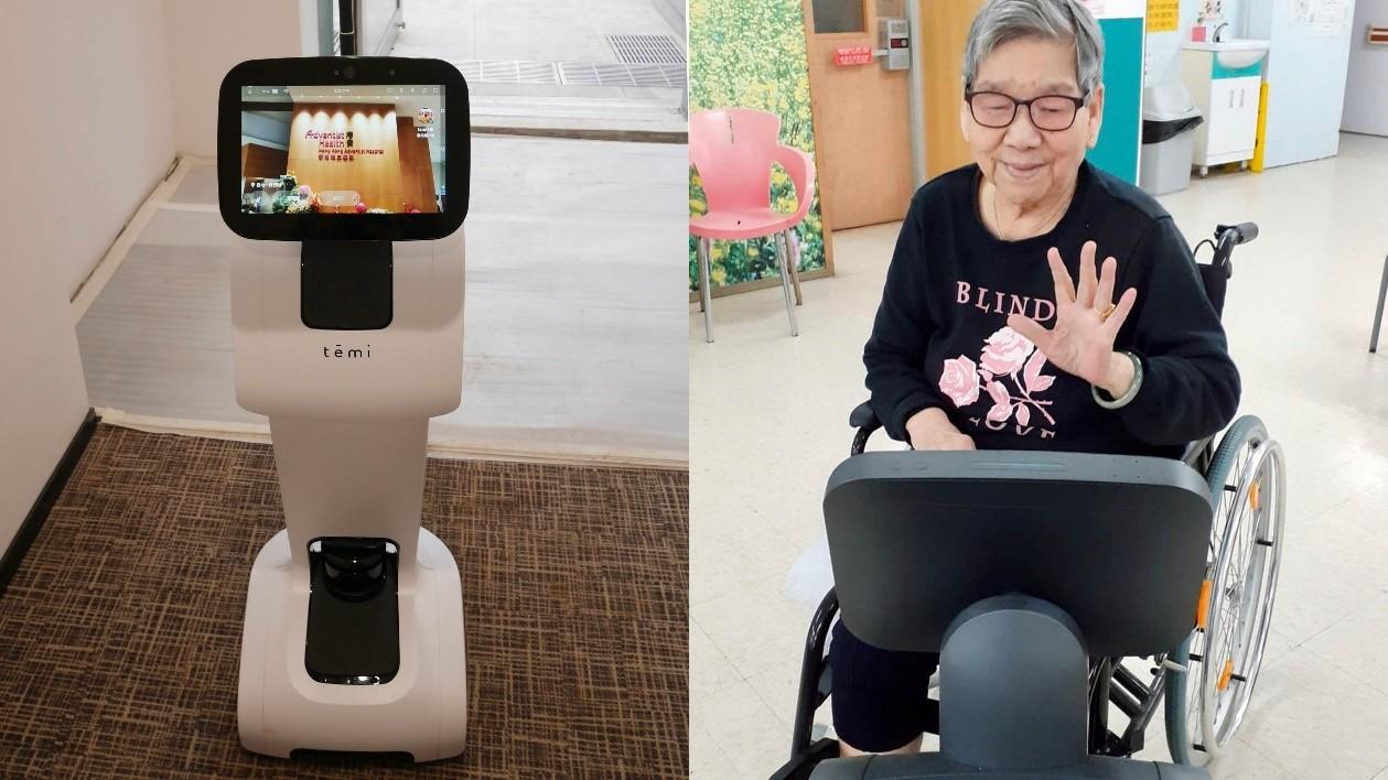 Robot Temi for Telecom Company By Jackys Business Solutions Dubai