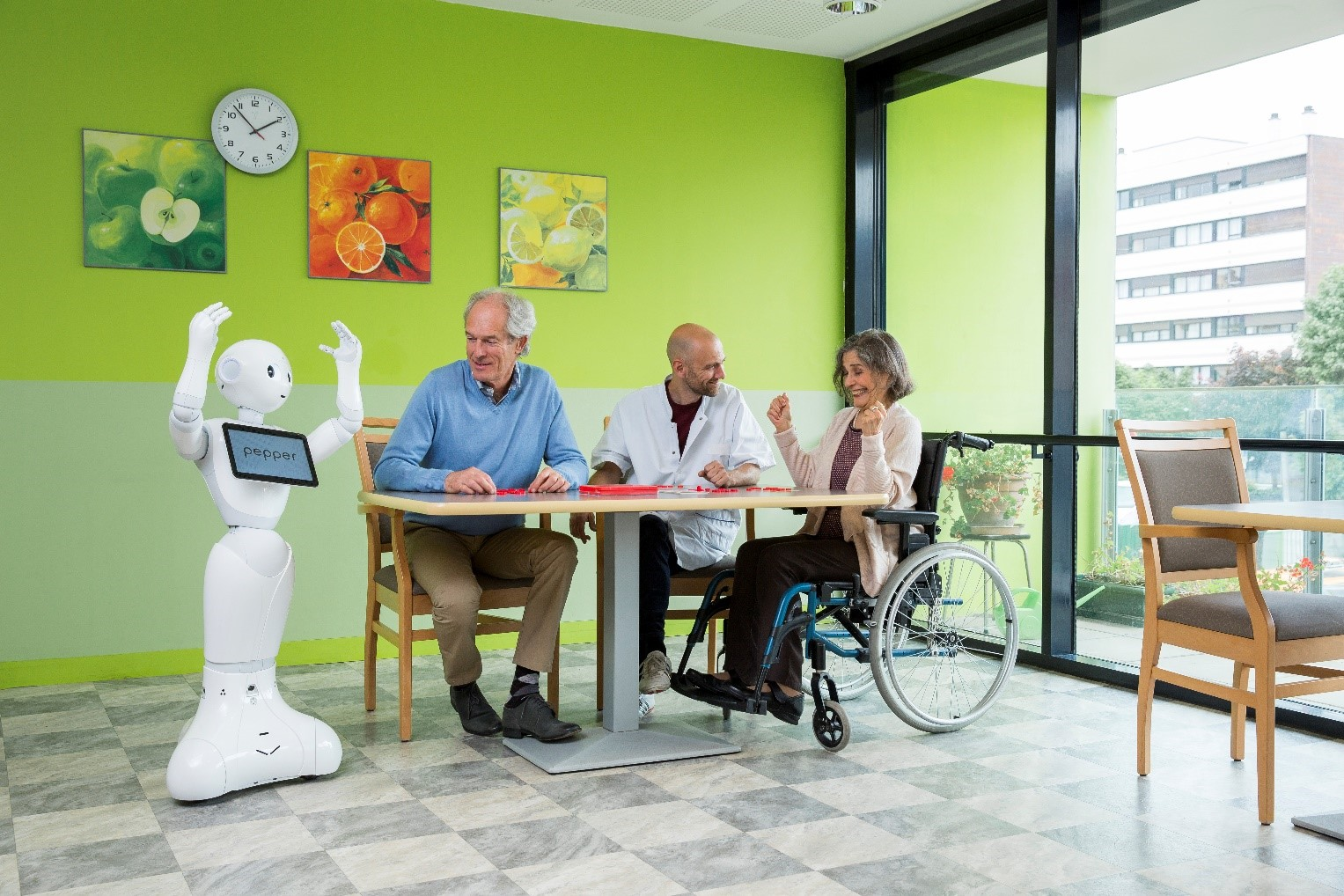 Pepper Robot for Healthcare Institutions By Jackys Business Solutions Dubai