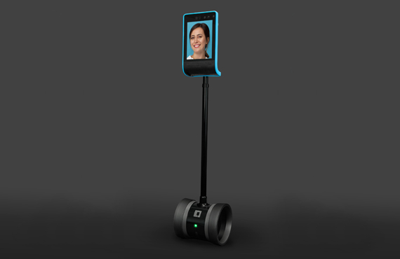 1. Telepresence Double 3 Robot Double Robotics for Hospitality business By Jackys Business Solutions Dubai
