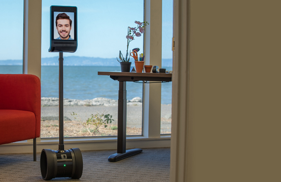 3. Telepresence Double 3 Robot Double Robotics for Hospitality business By Jackys Business Solutions Dubai