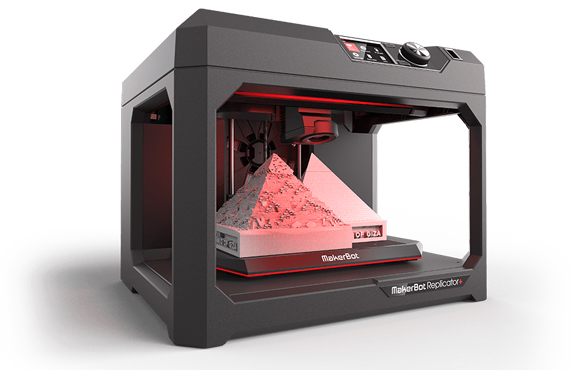 Makerbot Replicator+ MAKERBOT 3D PRINTER for Education Institutions By Jackys Business Solutions Dubai