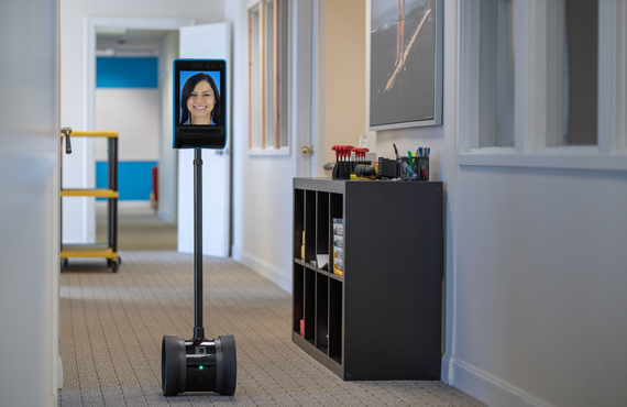 Telepresence Double 3 Robot Double Robotics for Healthcare Institutions by Jackys Business Solutions Dubai