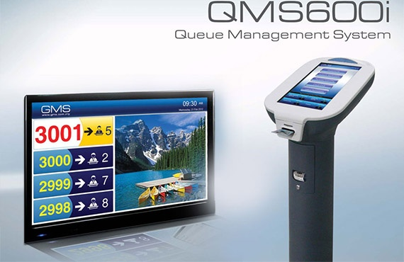 QMS600i QMS (Queue Management System) for Telecom Company By Jackys Business Solutions Dubai