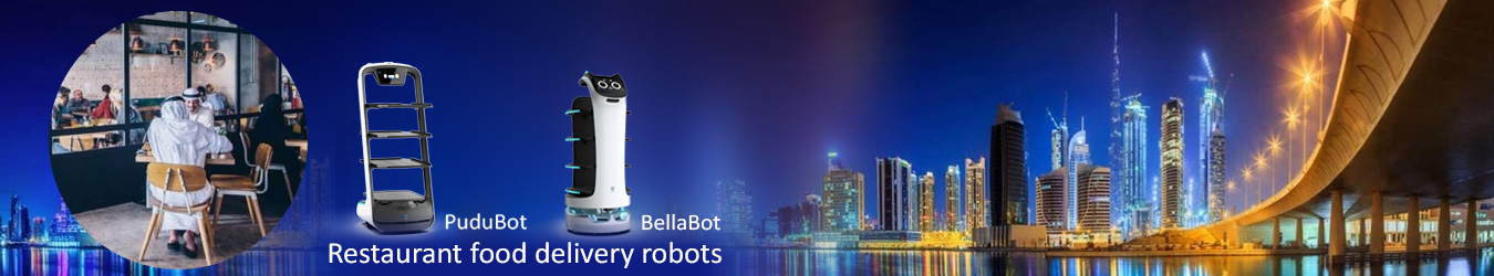Bellabot Food Delivery Robot for Hospitality Business By Jackys Business Solutions Dubai