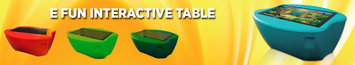 E-Fun Table  Innovative Solutions for  for Education Institutions  in Dubai