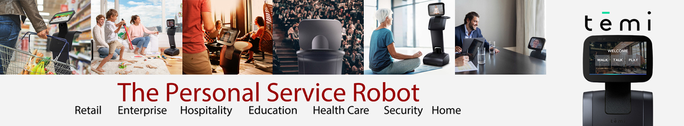 Robot Temi Healthcare for Healthcare Institutions By Jackys Business Solutions Dubai