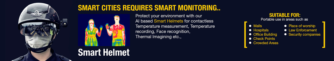 Smart Helmet - Telecom for Telecom Company By Jackys Business Solutions Dubai
